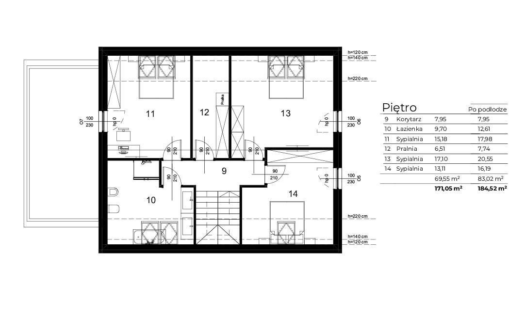 Czarowna18-Pietro-Rzut-2D